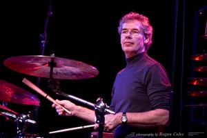Drummer, composer, and band leader, Bill Bruford